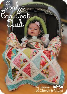 Sophie Car Seat Quilt « Moda Bake Shop