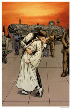 Han Solo & Princess Leia Organa | Star Wars