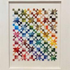 Cross Stitch Samplers, Counted Cross Stitch Patterns, Cool Patterns, Quilt Patterns, Rainbow Quilt, Modern Cross Stitch, Crochet Yarn, Quilt Making, Needlepoint