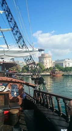 Arriving in Thessaloniki, Macedonia, Greece