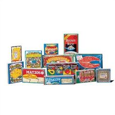 Matzos for all!!...(Guidecraft Play Kitchen Wooden International Foods Products)
