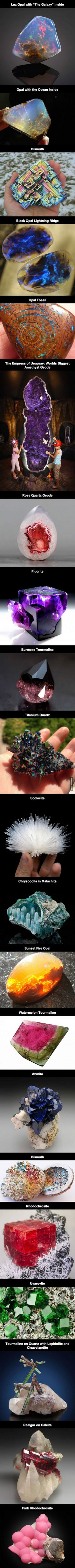 Some of the most beautiful minerals and stones