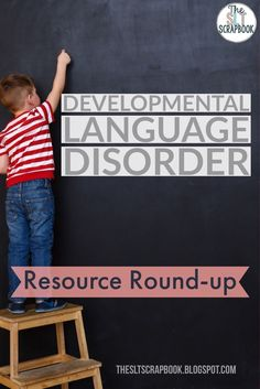 It is so important to keep up to date with changes in Speech and Language Therapy. This posts shares some great information and links to find out more about DLD! #DevLangDis #DLD123