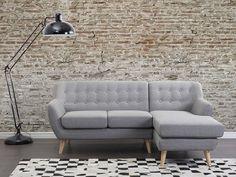 Sofa Hellgrau - Couch - Ecksofa - Eckcouch - Polsterecke - MOTALA