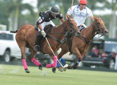 Facundo Pieres (Crab Orchard) takes on his elder brother Gonzalito (Audi) in Sunday's grass burner! - | Polo Pony