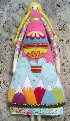 Забавные куклы британской мастерицы Annie Montgomerie