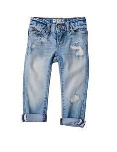 Baby Maya Rip Repair Jean - Baby Girls - Categories - new arrivals Baby Girl Pants, Baby Jeans, Girls Pants, My Baby Girl, Baby Girls, Little Girl Outfits, Little Girl Fashion, Baby Boy Outfits, Kids Fashion