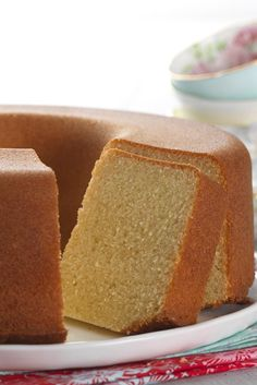 King Arthur Flour's Original Pound Cake Recipe