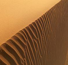 desert waterfall, badain jaran desert, china, by yushan sui