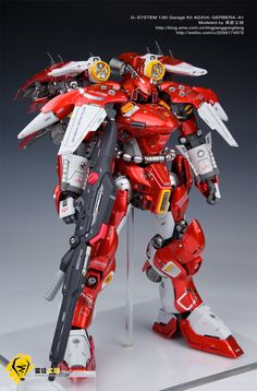 G-System 1/60 AGX-04A1 Gerbera Tetra Kai [Full LEDs!]: Work by 灵匠工坊. Full Photoreview Big or Wallpaper Size Images | GUNJAP