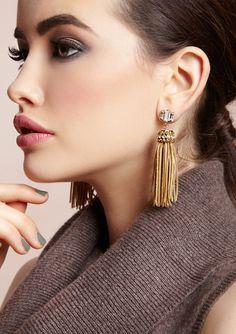 How to Make Tassel DIY Dangle Earrings - Glam Bistro