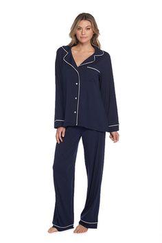 Barefoot Dreams® - Worlds softest and most luxurious hand knitted baby blankets, children's apparel, chic lounge wear for adults and accessories for the home. Barefoot Dreams® is luxury! Barefoot Dreams, Indigo Blue, Knitted Blankets, Pajama Set, Normcore, Boys, Model, How To Wear, Pants