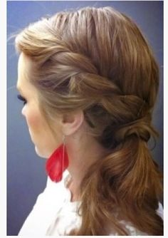10 Braided Hairstyles to Recreate This Fall | Beauty High- -This is my new favorite website for beauty stuff.