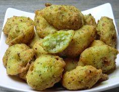 Beignets de morue au brocoli et au piment d'espelette sans gluten et sans lactose
