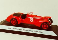 LE MANS 1932 -  ALFA ROMEO 8c 2300 LM  #8  -  Starter