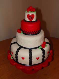 Wedding Anniversary Cake for my parents