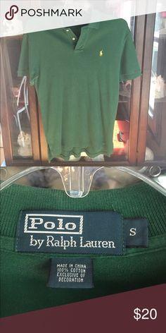 Men's Ralph Lauren Green Polo Sport Shirt This item is in great shape! Polo by Ralph Lauren Shirts Polos