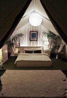 Cochella safari tents offer glamorous camping