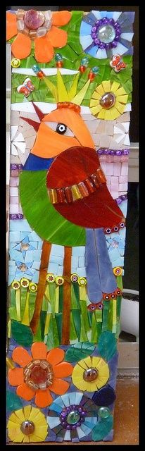 Bird      #mosaic #design #art