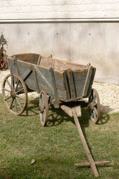 French antique 1800's cart