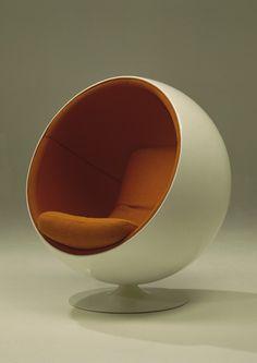 Pallotuoli/Globe chair, designed by Eero Aarnio, 1965, Finnish design