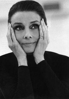 Audrey Hepburn by Steven Meisel, 1991
