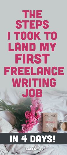 Learn how I landed my first freelance writing job in less than four days and all the actionable steps it took to get there without a portfolio! This post is especially helpful for beginners who are interested in learning about how to pick a niche, tips + tricks, and ideas on how to get started freelancing. Teal Notes | Make Money Blogging | Freelance Writing |