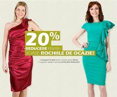 Rochii de ocazie cu reduceri de 20% Dresses For Work, Reading, Books, Fashion, Moda, Libros, Fashion Styles, Book, Reading Books