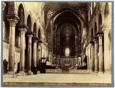#Palermo, Duomo di #Monreale, veduta dell'abside centrale