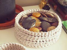 Simple Crochet Basket Free Pattern