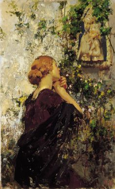 Vincenzo Irolli, Italian painter. Born in Naples in 1860 and died in ...
