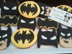 1 doz entregada el martes! Esta vez tiene un nuevo diseño!!! #batman #batmancookies #mycookiecreations