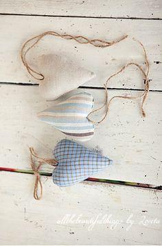 Hartje van stof en touw