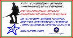 25 Aprile, ricordiamo i soldati fedeli al Re   ITALIA REALE - Stella e Corona