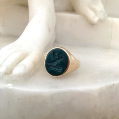 Part of Thomas's personal collection; I've noticed he's been wearing it as a wedding ring lately.  #MCM #lovethatman #hesgotstyle