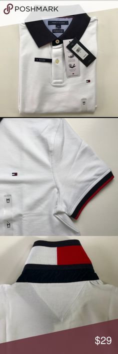 Tommy Hilfiger Performance Pique Polo Shirt NWT Tommy Hilfiger Performance Pique, Medium,NWT Tommy Hilfiger Shirts
