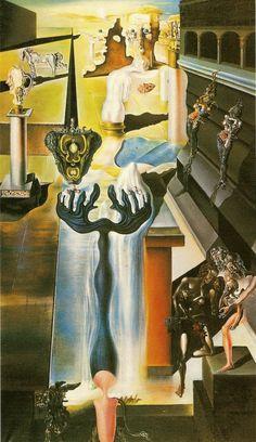 El hombre invisible. Dalí