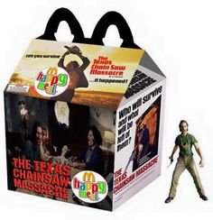 """The Texas Chainsaw Massacre"" Happy Meal"