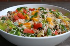 Salata usoara de vara cu orez