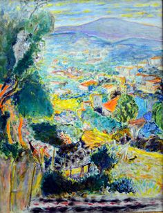 Pierre Bonnard - Le Cannet, 1939 at Kunstmuseum Winterthur Switzerland (by mbell1975)