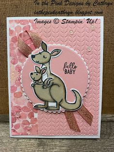 Baby Cards, Kids Cards, Stampin Up Catalog, Kids Birthday Cards, Stamping Up Cards, Baby Kind, Catalogue, Your Cards, Cardmaking