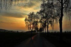 """29.03.2014 """"Ein Sonnenuntergang verzaubert das Weserbergland"""", schreibt Rolf Sander zu seinem Bild, das er zwischen Völkerhausen und Emmerthal aufgenommen hat."""