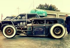 Ratrod...pretty sure this one is my 13 year olds dream car! :-)