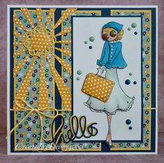 SSS Wednesday Challenge Blog: Simon Says Vacation/Travel | card by Debby
