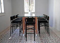 Tessa Collection: Dining table - david/nicolas