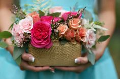 Bouquet by Posy Floral Designs  Photo by Sherri Barber
