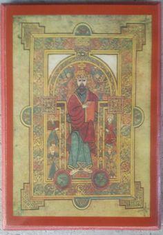 EASTERN ORTHODOX ICON CHRIST BOOK OF KELLS