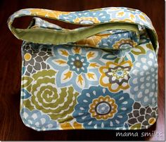 Easy to Sew Messenger Bag Sewing Tutorial - written to help promote Jo-Ann and Waverly's Facebook #Waverize it contest.