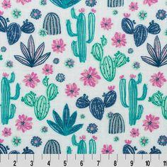 Funky Monkey Fabrics Inc. - Midnight Cactus Dusk Embrace Double Gauze - 1/2 yard, $7.00 (https://funkymonkeyfabrics.com/midnight-cactus-dusk-embrace-double-gauze-1-2-yard/)