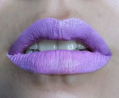 TOXIC LULLABY lavender lipstick by Insomnia Cosmetics- vegan and cruelty free